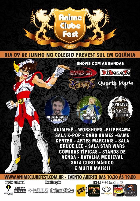 Anime Clube Fest - 3º edição