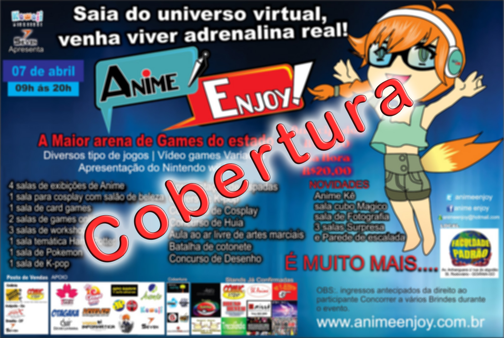 Anime Enjoy - Cobertura