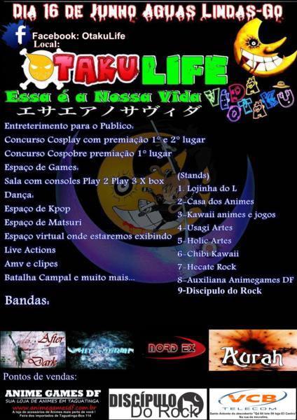 otaku life cartaz