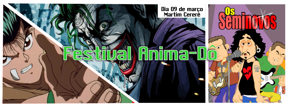 [Evento] Festival Anima-Dô