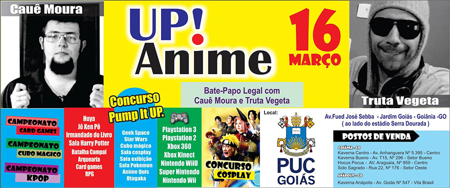 [Evento] Up! Anime