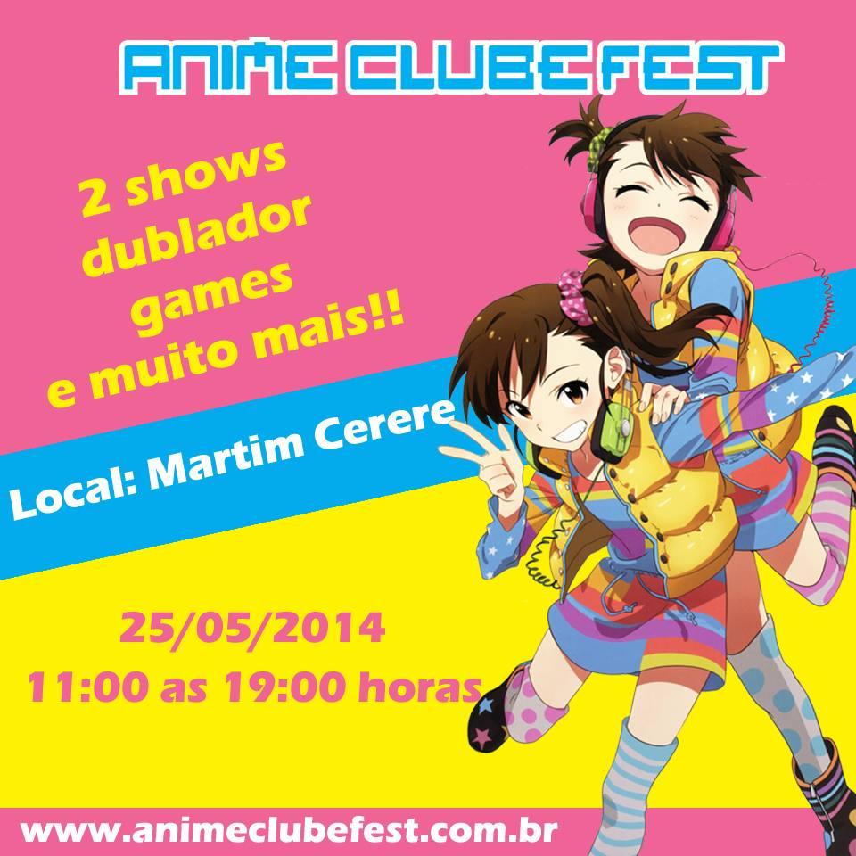 Anime clube Fest - flyer 1