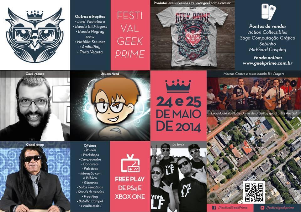 Festival Geek Prime - flyer