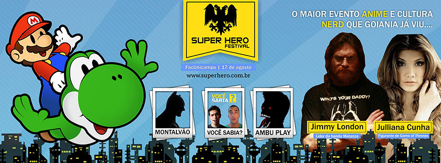 [Evento] Super Hero Festival