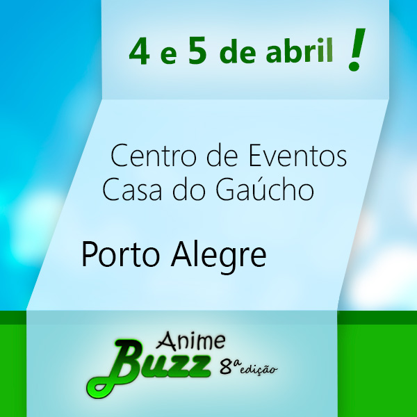 Anime Buzz - 8ª edição folder