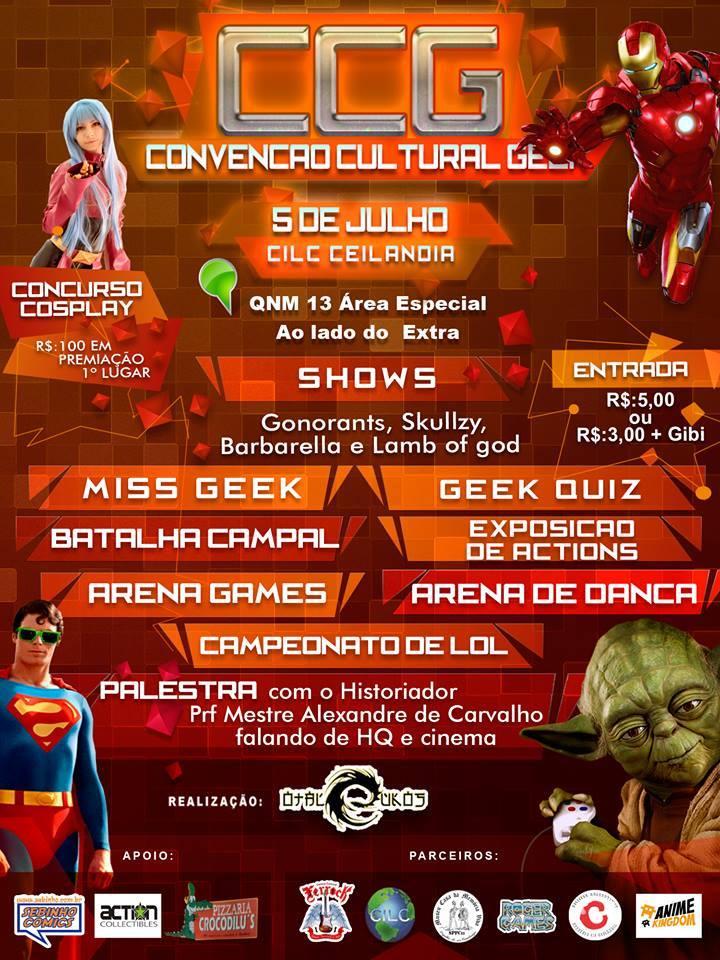 CCG (Convenção Cultural Geek) folder