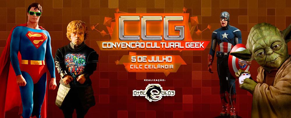 [Evento] CCG (Convenção Cultural Geek)