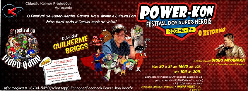 [Evento Fraude?] Power-Kon - Recife 2015