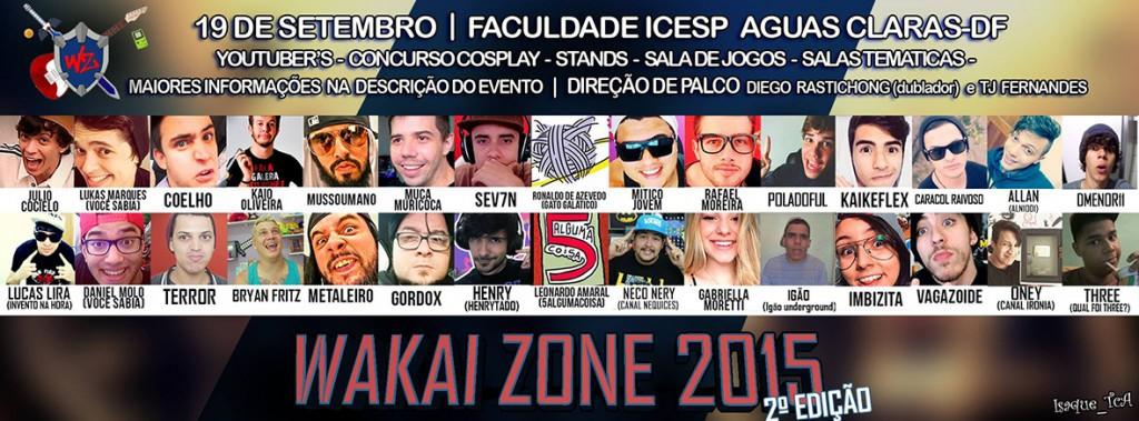 Wakai Zone 2015 - 2ª edição