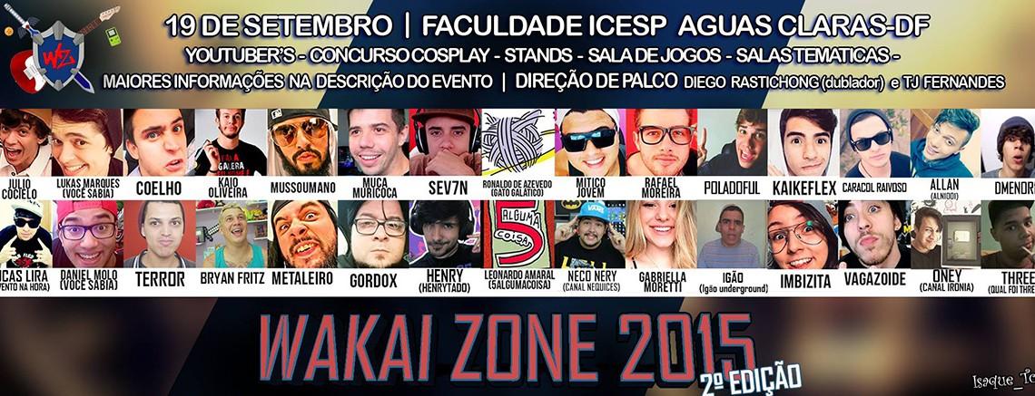 [Evento] Wakai Zone 2015 – 2ª edição