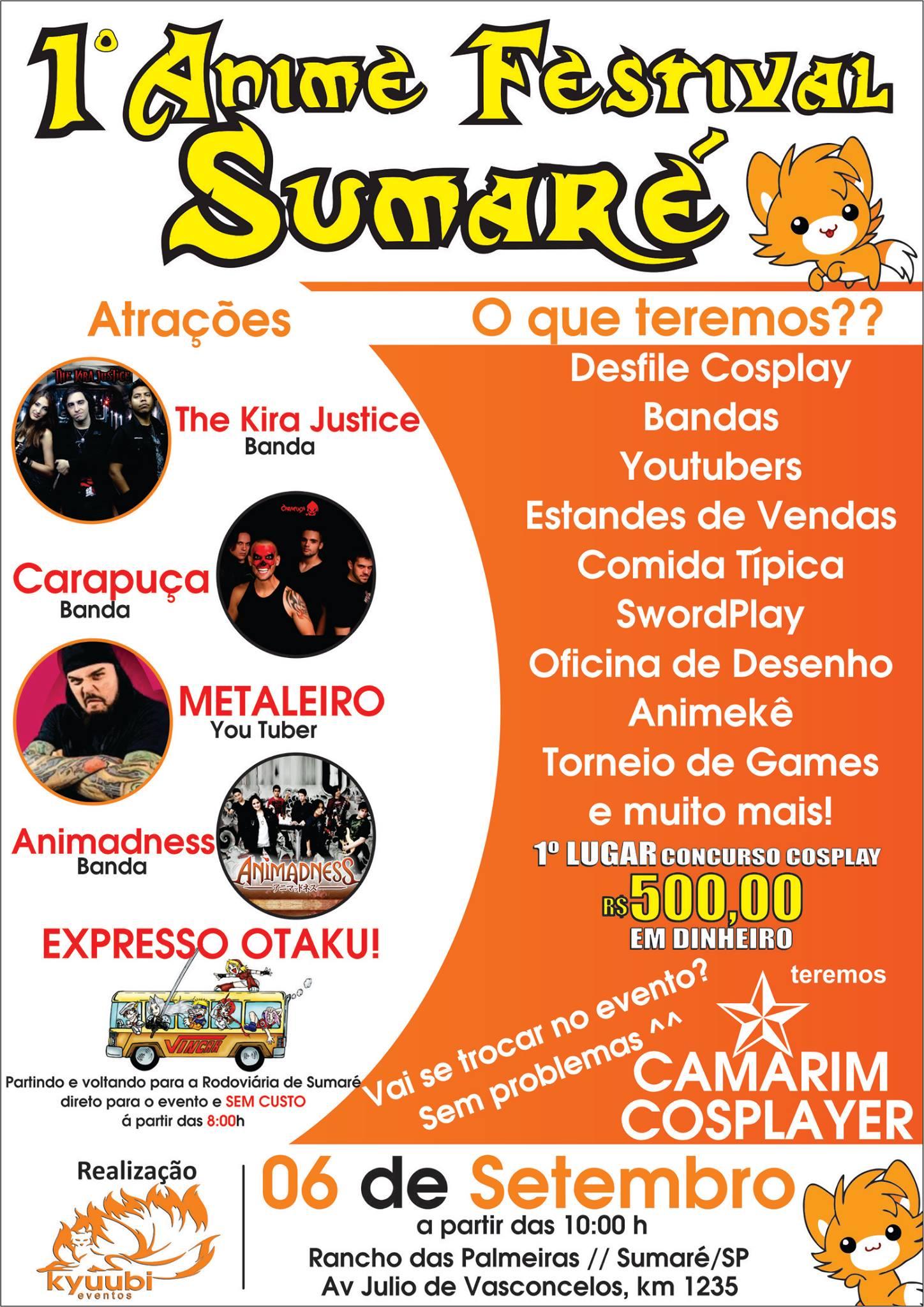1° Anime Festival Sumaré