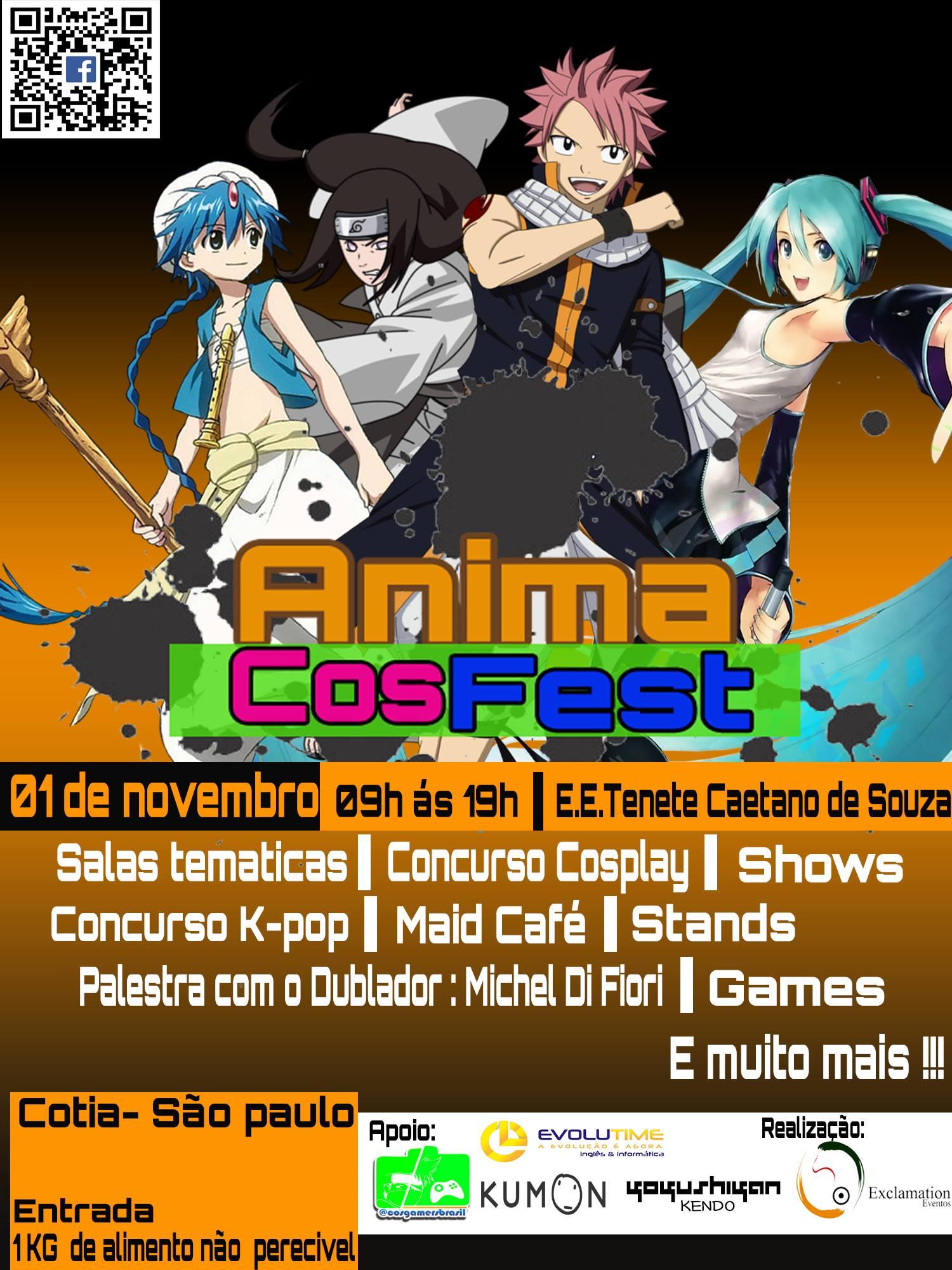 Anima CosFest - First Edition cartaz