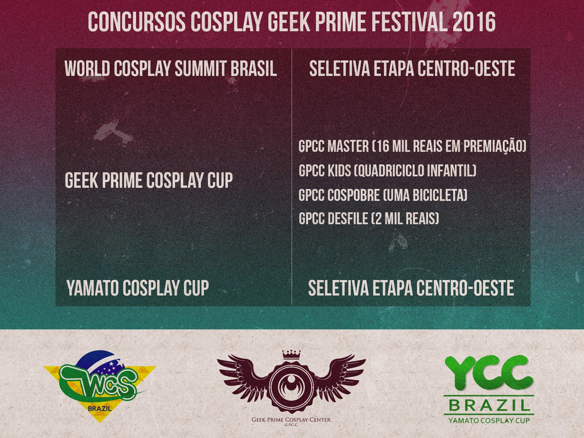 Geek prime cosplay ycc wcs