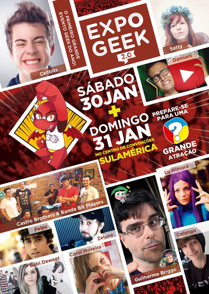 Expo Geek 2.0 capa