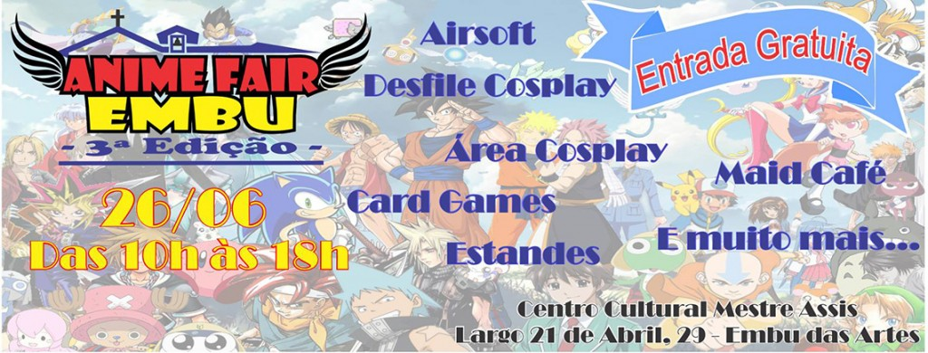 Anime Fair Embu - 3ª Edição