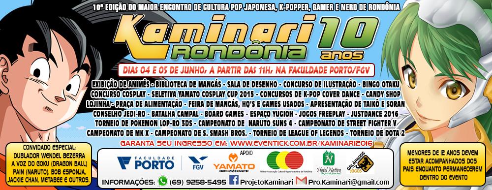 Kaminari Rondônia 10ª Edição