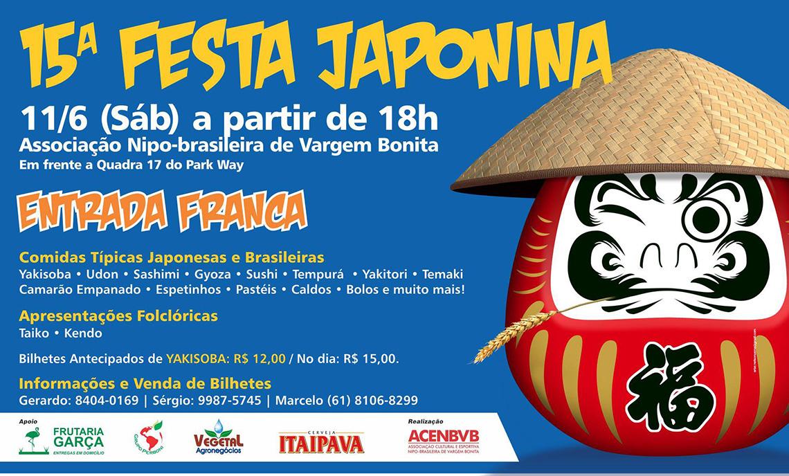 15ª FESTA JAPONINA