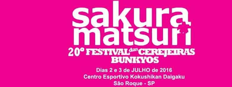 20º Sakura Matsuri - Festival das Cerejeiras Bunkyos