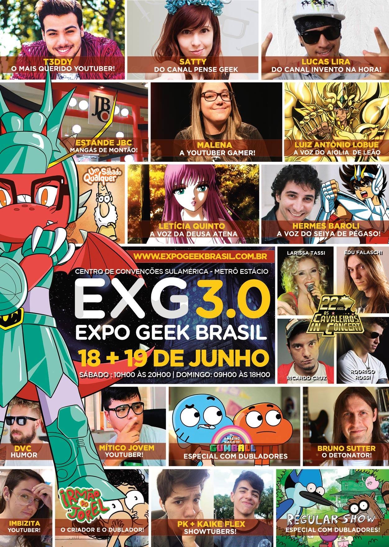 Expo Geek Brasil 3.0 folder
