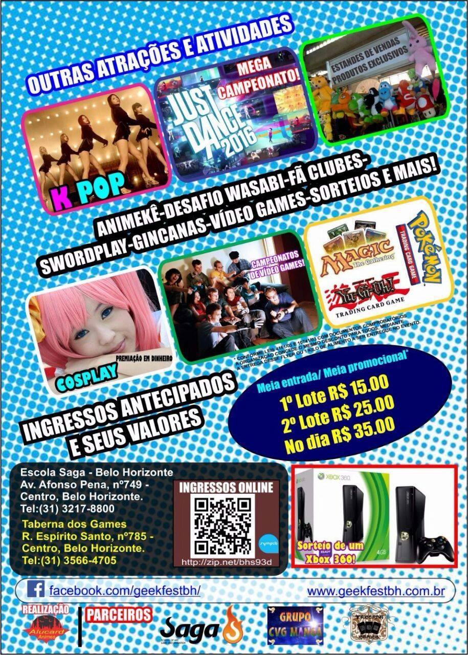 GeekFest BH - 1ª Edição 1