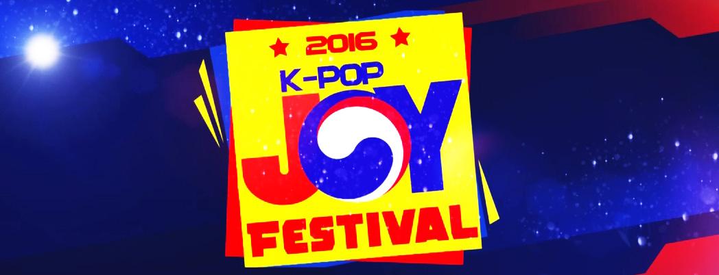 [Evento] K-pop JOY Festival 2016