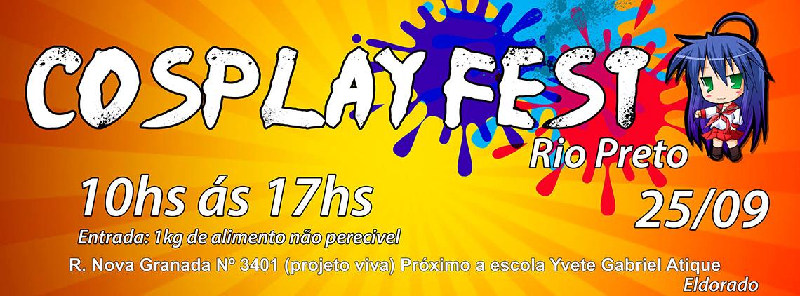 Cosplay Fest Rio Preto 2016