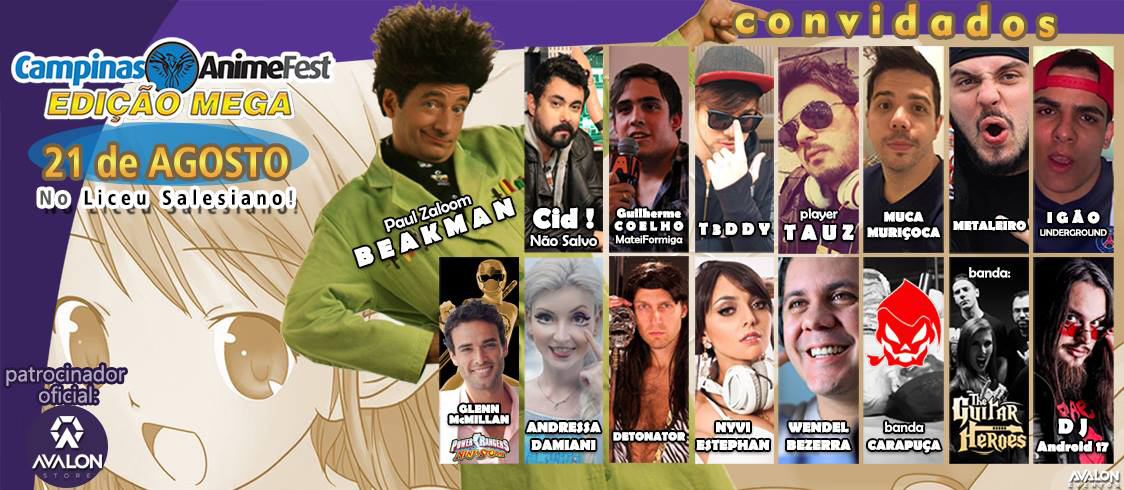Mega Campinas Anime Fest 2016