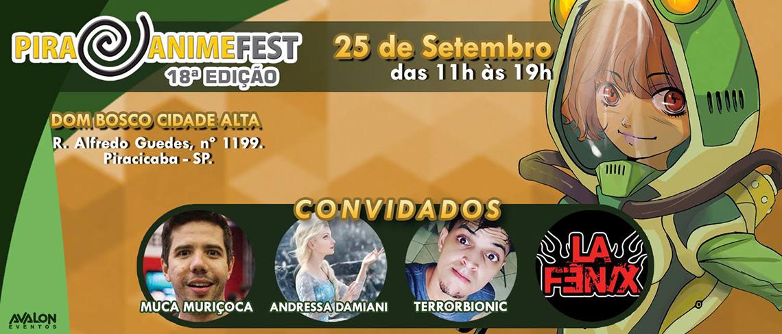 Pira Anime Fest 18ª edição
