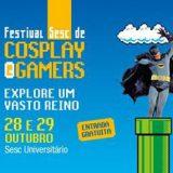 [Evento] Festival Sesc de Cosplay e Gamers GO 2017