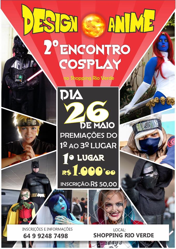 Design Anime - 2° Encontro Cosplay