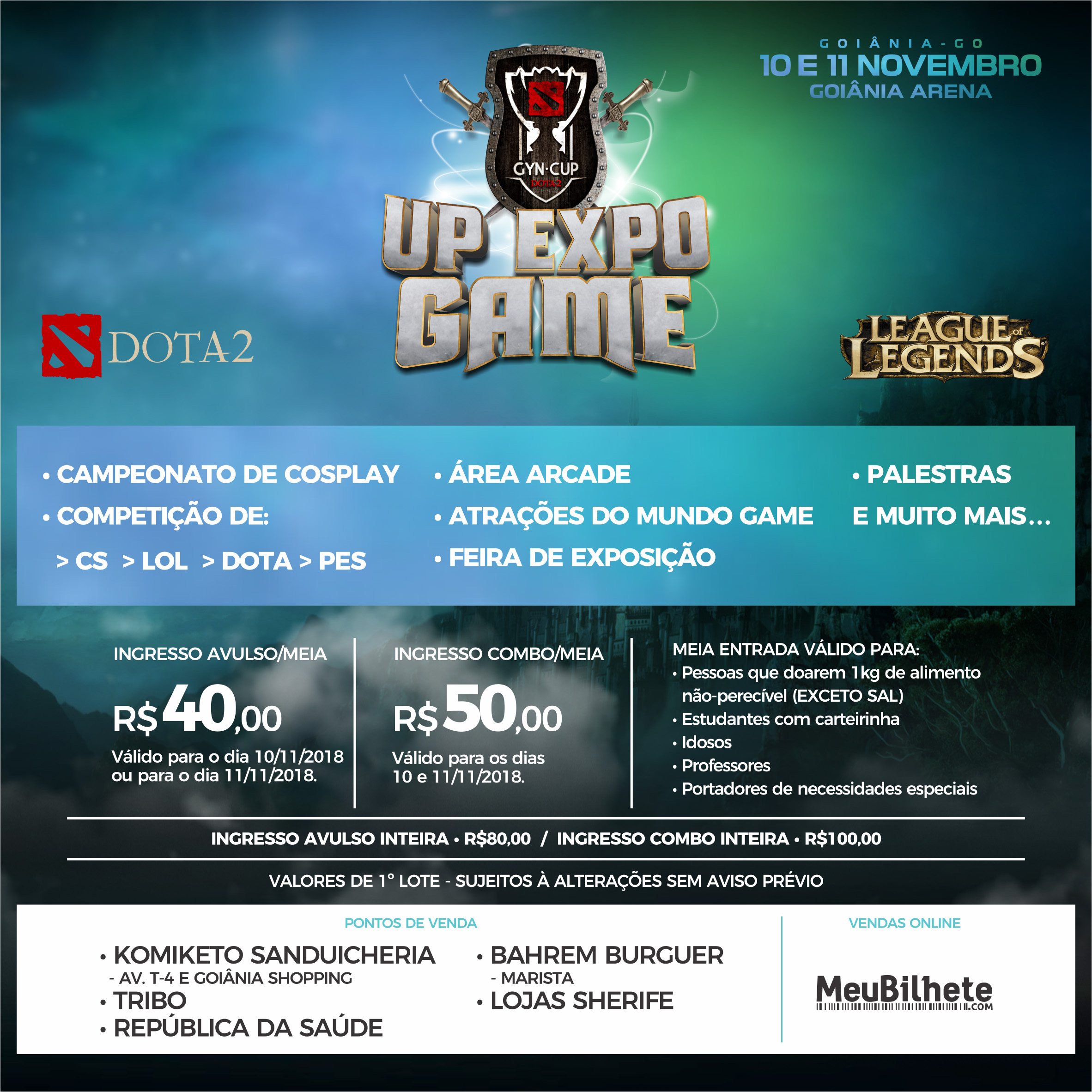 Up Expo Game 2018