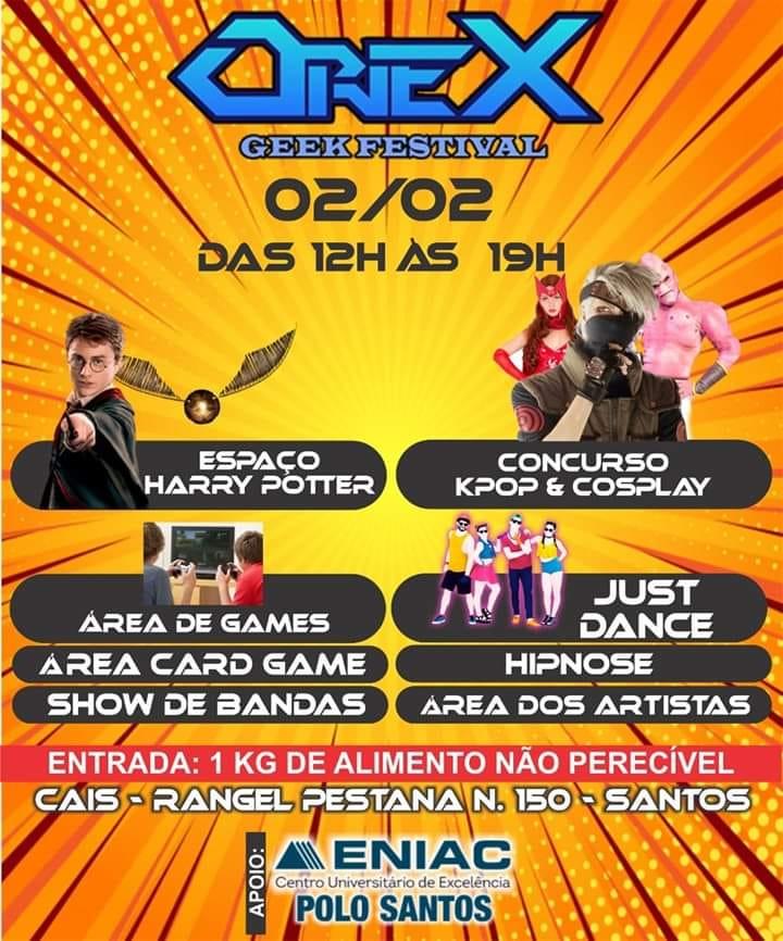 Oriex Geek Festival 2020